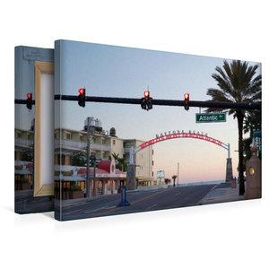 Premium Textil-Leinwand 45 cm x 30 cm quer Daytona Beach