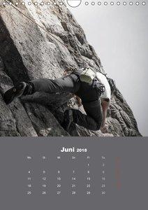 Erlebnis Outdoor Klettern (Wandkalender 2018 DIN A4 hoch)