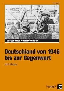 Deutschland von 1945 bis zur Gegenwart