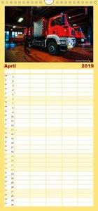 Berufsfeuerwehr Salzgitter - Familienplaner hoch (Wandkalender 2
