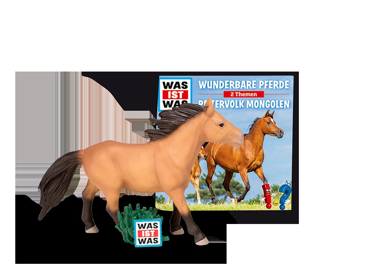 01-0039 Tonie-WAS IST WAS - Wunderbare Pferde/Reitervolk Mongole - zum Schließen ins Bild klicken
