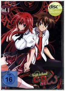 Highschool DXD New - DVD Vol. 1
