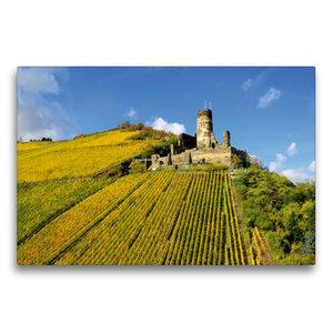 Premium Textil-Leinwand 75 cm x 50 cm quer Burg Fürstenberg