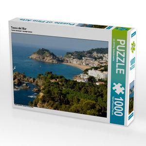Tossa del Mar 1000 Teile Puzzle quer
