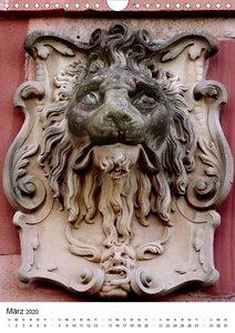 Der Heidelberger Löwe (Wandkalender 2020 DIN A4 hoch)