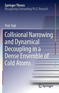 Collisional Narrowing and Dynamical Decoupling in a Dense Ensemb