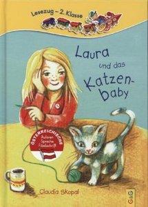 Laura und das Katzenbaby