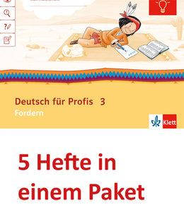 Mein Indianerheft. Deutsch für Profis. Fordern. Arbeitsheft Klas