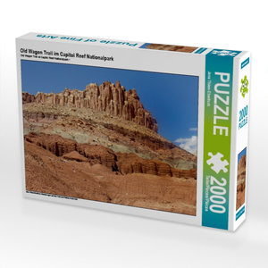 Old Wagon Trail im Capitol Reef Nationalpark 2000 Teile Puzzle q