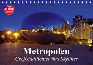 Metropolen. Großstadtlichter und Skylines