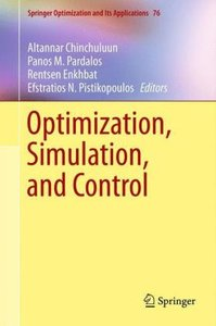 Optimization, Simulation, and Control