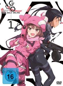 Sword Art Online Alternative: Gun Gale Online - DVD 1 (Ep 1-5.5)