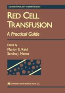 Red Cell Transfusion