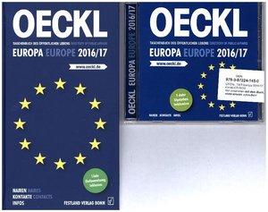 OECKL. Taschenbuch des Öffentlichen Lebens - Europa 2016/2017 Ko