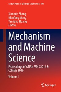 Mechanism and Machine Science