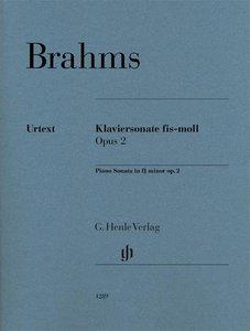 Klaviersonate fis-moll op. 2, Klavier zu zwei Händen