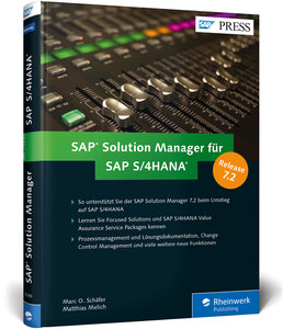 SAP Solution Manager für SAP S/4HANA