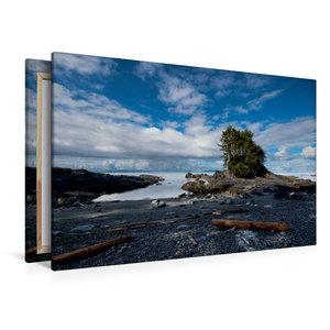 Premium Textil-Leinwand 120 cm x 80 cm quer Botany Bay
