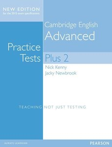 Cambridge Advanced Practice Tests Plus New Edition Students' Boo