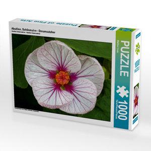 Abutilon, Schönmalve - Dreamcatcher 1000 Teile Puzzle quer