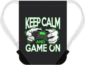 Minecraft - Keep Calm and Game On - Sporttasche, Turnbeutel, Gym