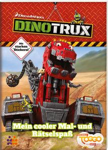 Dinotrux. Mein cooler Mal- und Rätselspaß