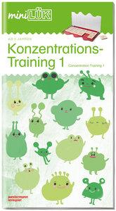 LÜK. Konzentrationstraining 1 / concentration training - ab 1.