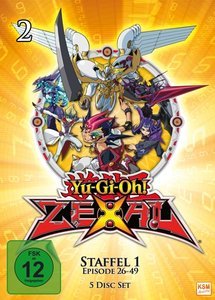 Yu-Gi-Oh! - Zexal - Staffel 1.2: Episode 26-49