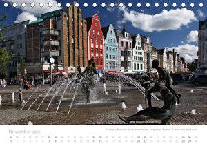 Hafenstädte der Ostsee (Tischkalender 2020 DIN A5 quer)
