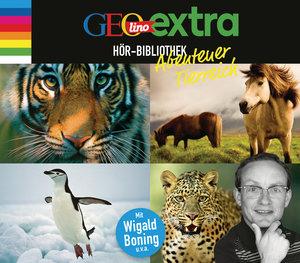 GEOlino extra Hör-Bibliothek - Abenteuer Tierreich, 4 Teile