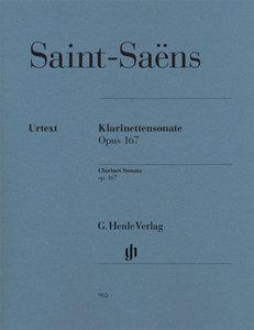 Klarinettensonate, Klarinette und Klavier, Klavierpartitur u. Kl