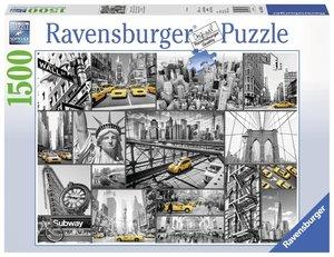 Farbtupfer in New York (Puzzle)