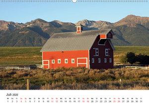 Red Barns - rote Scheunen (Wandkalender 2020 DIN A2 quer)