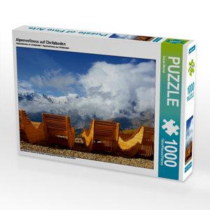 Alpenwellness auf Chritzboden 1000 Teile Puzzle quer