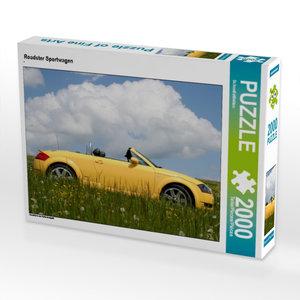 Roadster Sportwagen 2000 Teile Puzzle quer
