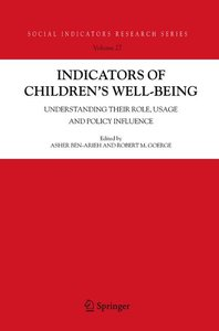 Indicators of Children's Well-Being