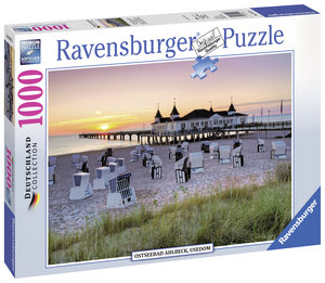 Ostseebad Ahlbeck, Usedom. Puzzle 1000 Teile
