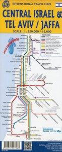 Stadtplan Tel Aviv/Central Israel