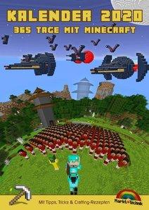 Kalender 2020 - 365 Tage mit Minecraft inklusive Tipps, Tricks &