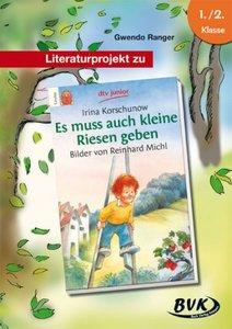 """Literaturprojekt zu """"Es muss auch kleine Riesen geben"""""""