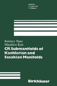 CR Submanifolds of Kaehlerian and Sasakian Manifolds