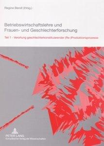 Betriebswirtschaftslehre und Frauen- und Geschlechterforschung