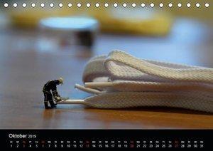 Miniansichten - Kleine Leute in Berlin (Tischkalender 2019 DIN A