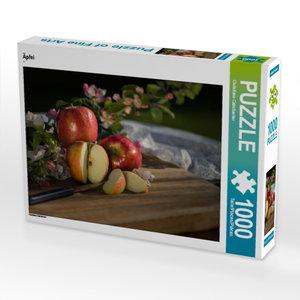 CALVENDO Puzzle Äpfel 1000 Teile Lege-Größe 64 x 48 cm Foto-Puzz