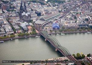 Köln - Die Rheinmetropole aus der Luft