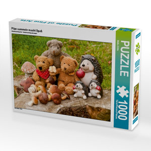 Pilze sammeln macht Spaß 1000 Teile Puzzle quer