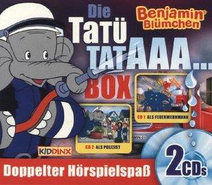 Benjamin Blümchen - Tatütataaa-Box - als Feuerwehrmann/als Poliz