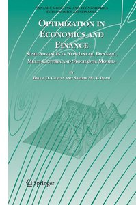 Optimization in Economics and Finance