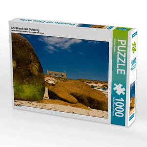 Am Strand vom Guisseny 1000 Teile Puzzle quer