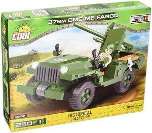 COBI 2387 - SMALL ARMY, 37 mm GMC M6 Fargo, Radpanzer, WWII, Bau
